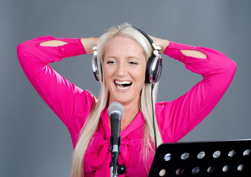 Radio Voice Over artist MC Bexta